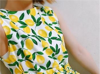 初夏にぴったり♡ 大人かわいい《レモン柄》トップスはココでget!