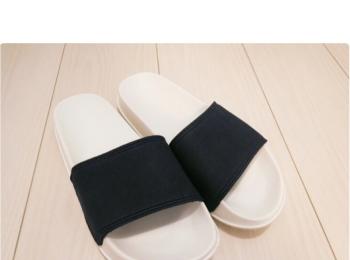 《なんとunder1000円で!!!》履きやすくてどんなコーデにも合うスライドサンダルは無印でGETして♡