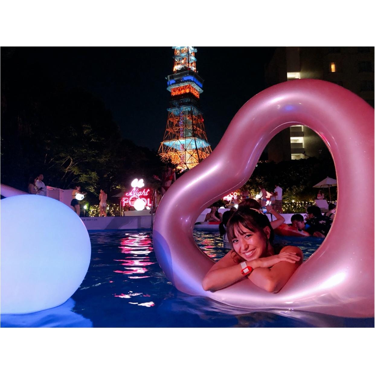 インスタ映え間違いなし‼︎【ナイトプール】in東京プリンス 〜映える写真の撮り方教えます♪〜_8