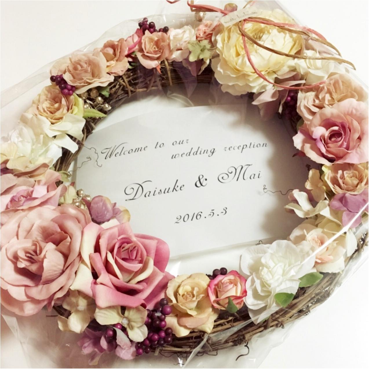 """""""Pink""""テーマの結婚式♡ 私のこだわりのウェルカムスペース♡アイディア6選ご紹介します♪_7"""