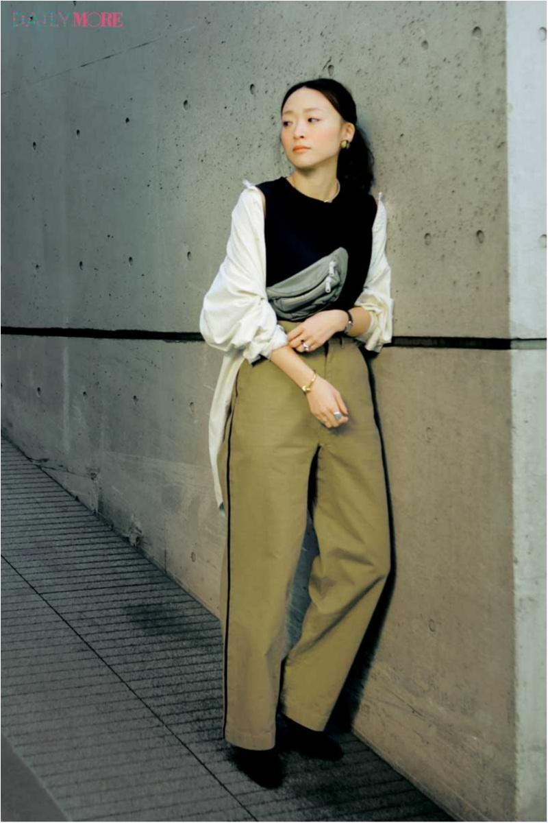 """お洒落な人も""""女っぽい""""が気分♪ ファッションディレクター野尻美穂さんの春私服は、「カジュアル派だからこそ女性らしさを足します」_1_1"""