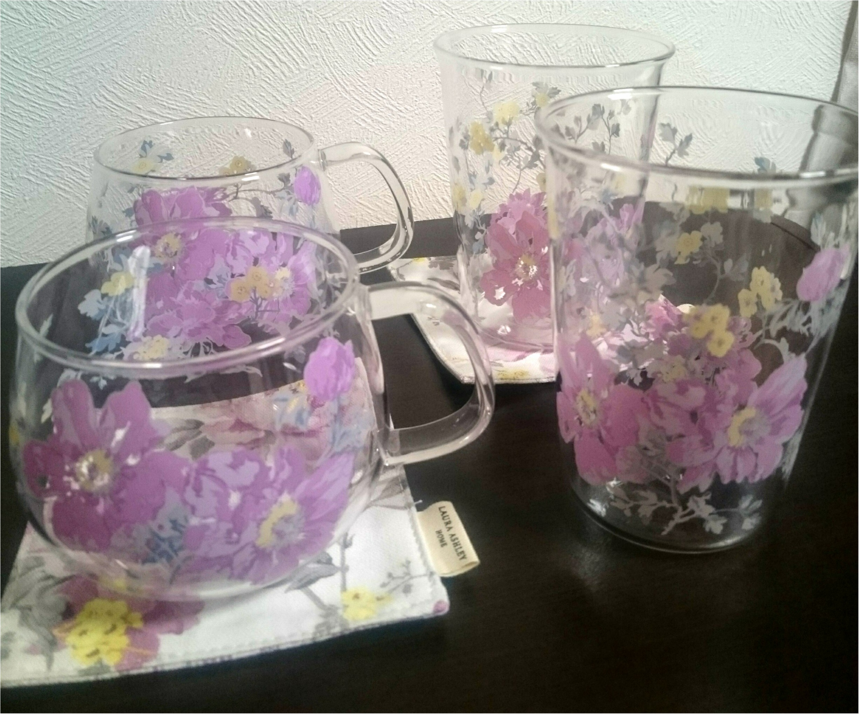 【ローラアシュレイ】ピオニー/アメジスト 食器を新調_14