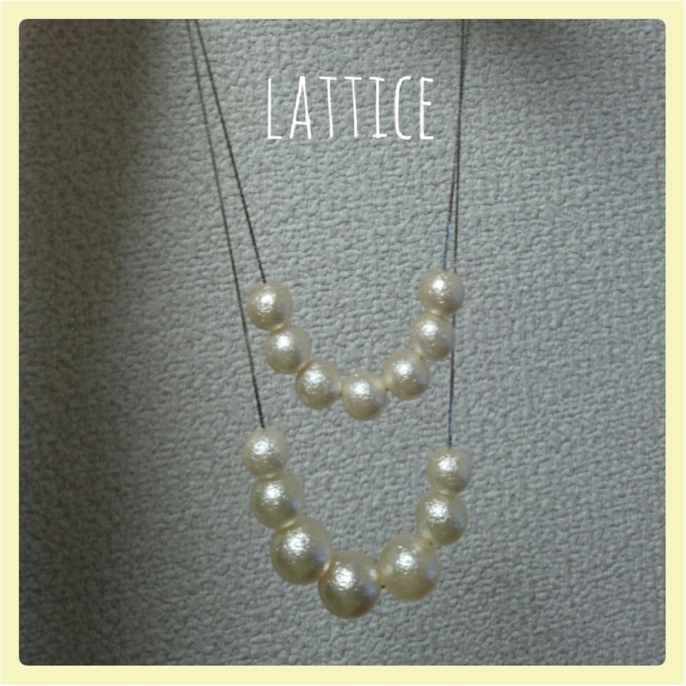 【アクセもプチプラ!!】lattice(ラティス)で最旬アクセをgetしましょ^^*_3