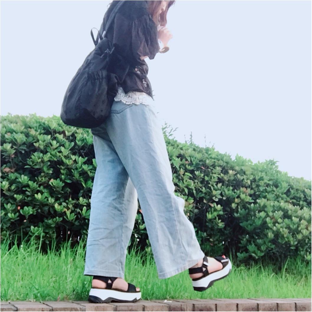 【ZARA】買ってよかった高コスパ靴!売切れ必須#ヴェッジソールサンダルが優秀すぎ♡_15