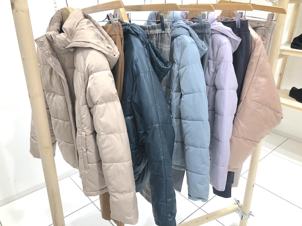 『GU』2019秋冬展示会でアウター祭☆ シャツジャケット、チェック柄、もこもこも全部着てみました!_11