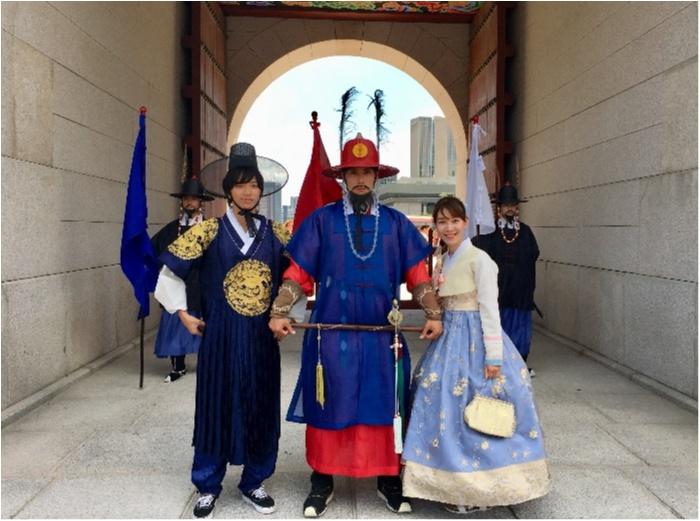 韓国に行ったら絶対おすすめ♡チマチョゴリでの景福宮ツアー♡_1