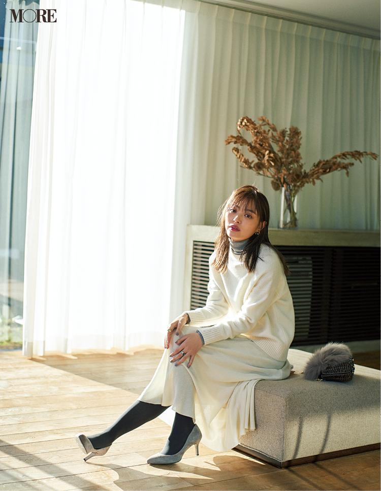 「冬の白」が苦手なのはもったいない。スタイリスト高野さんが白を素敵に着こなすコツを教えてくれた!_1