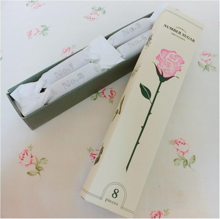 【プチギフト】ホワイトデーのお返しにバラを一輪♡ 話題の手づくりキャラメル専門店『NUMBER SUGAR』がプチギフトにぴったりなんです♡♡_4