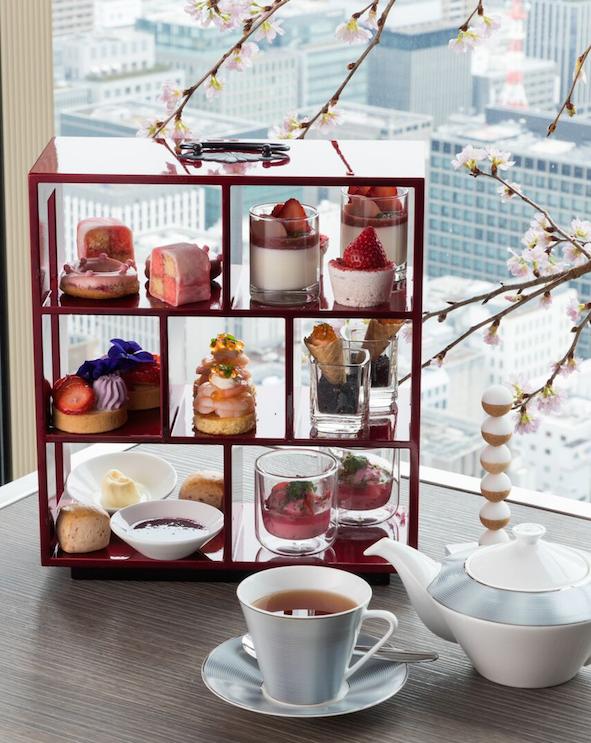 『コンラッド大阪』が初めて迎える春。40階のラウンジで和モダンな桜アフタヌーンティーを♡【4/15(日)まで】_1