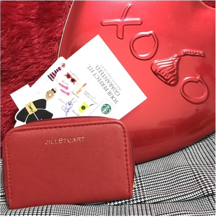 【MORE】モア12月号付録!JILLSTUARTミニ財布が可愛くて使えてなにより便利!!_1
