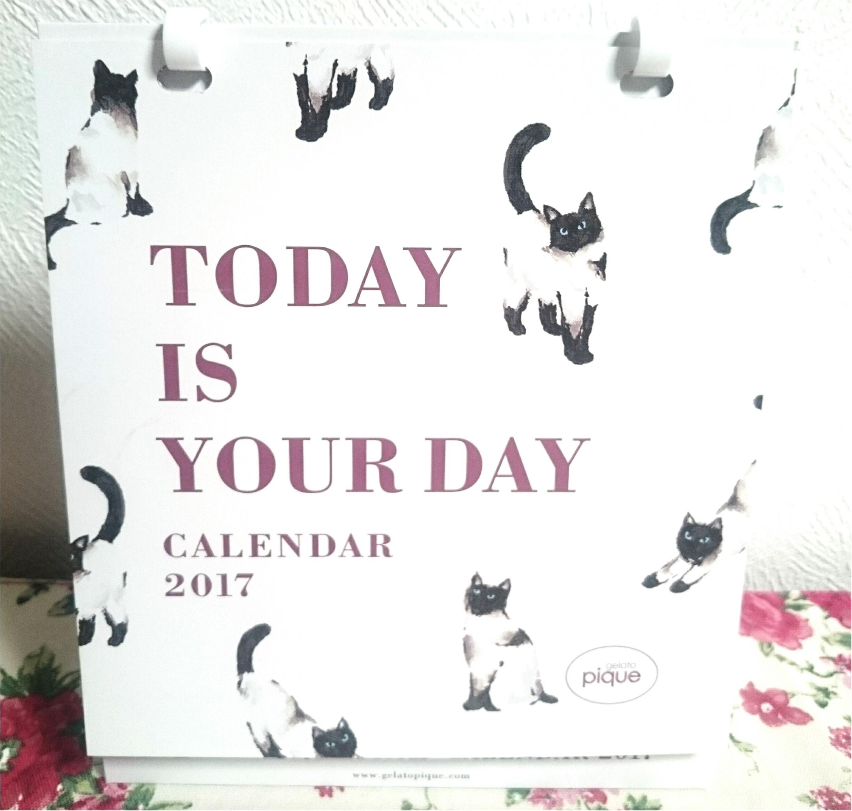 ☆モアハピ部らしくジェラートピケのカレンダーで振り返る2016年、そして2017年に向けて☆_37
