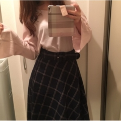 今年の流行!♥ミディ丈スカートで作る♡通勤コーデ4選(っ´ω`c)♡