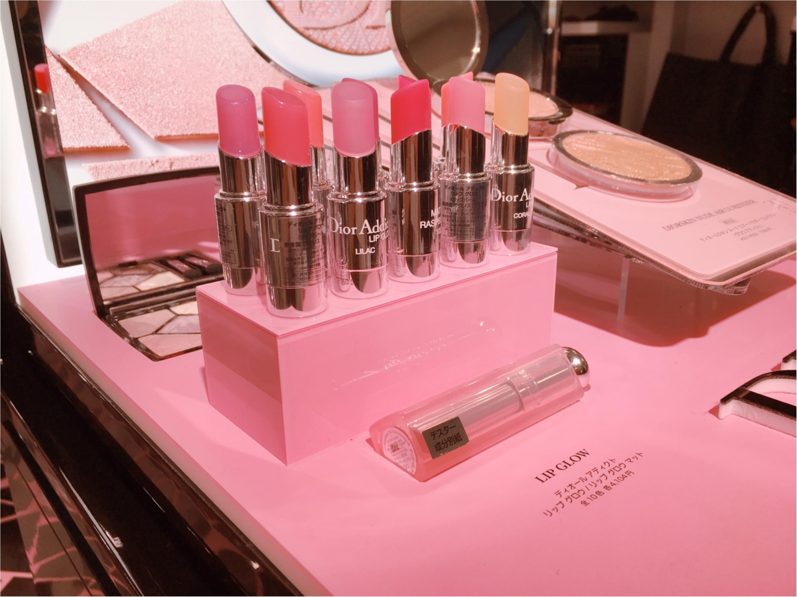 《1/9まで先行発売&刻印サービス》3秒に1本売れている【Dior】「ディオール アディクト リップ グロウ」新作イベント_2