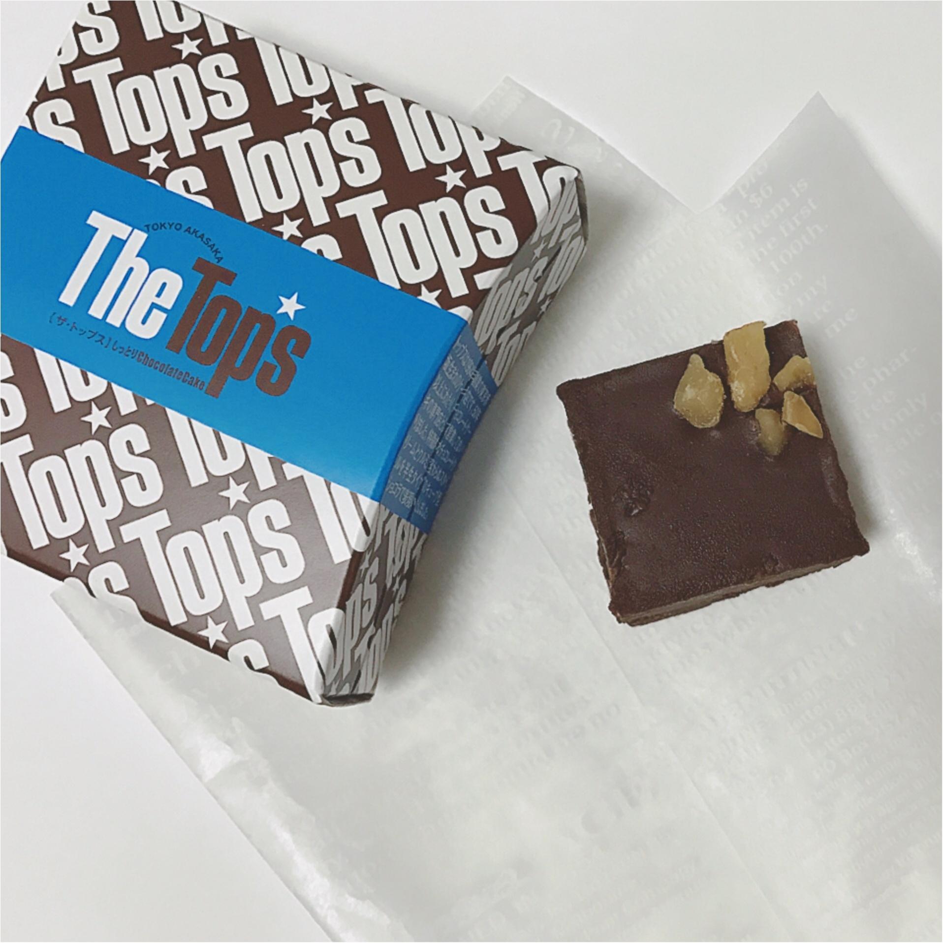 期間限定ショップへ急げ~!Top'sの大人気チョコレートケーキが焼き菓子になって登場!_2