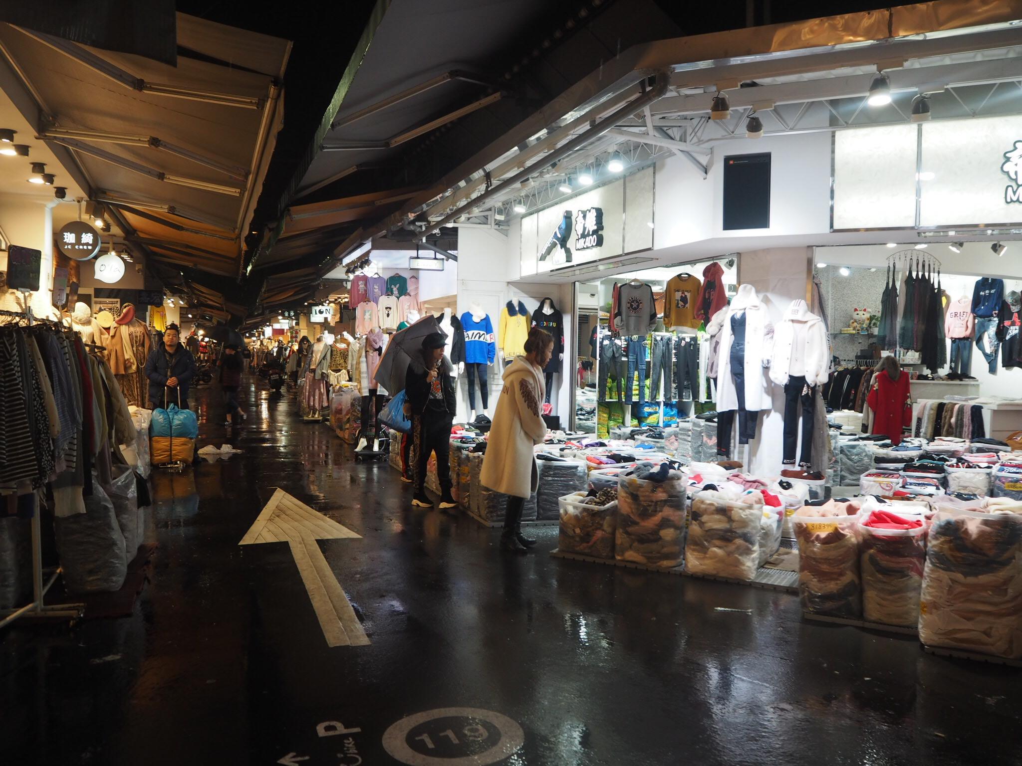 《台湾女子旅》洋服問屋街『五分埔商圏』戦利品も公開!!_1