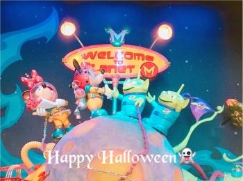 ▷【Disney Halloween2018】綺麗な宇宙のお姉さんになりきってみた☆