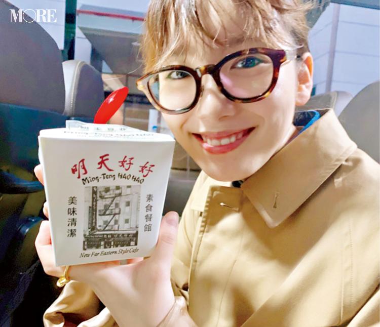 飯豊まりえが、話題の台湾スイーツカフェ『明天好好』をチェック!【モデルのオフショット】_1
