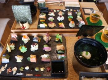 【京都】雑誌やメディアにも取り上げられる人気の手織り寿し店❤︎