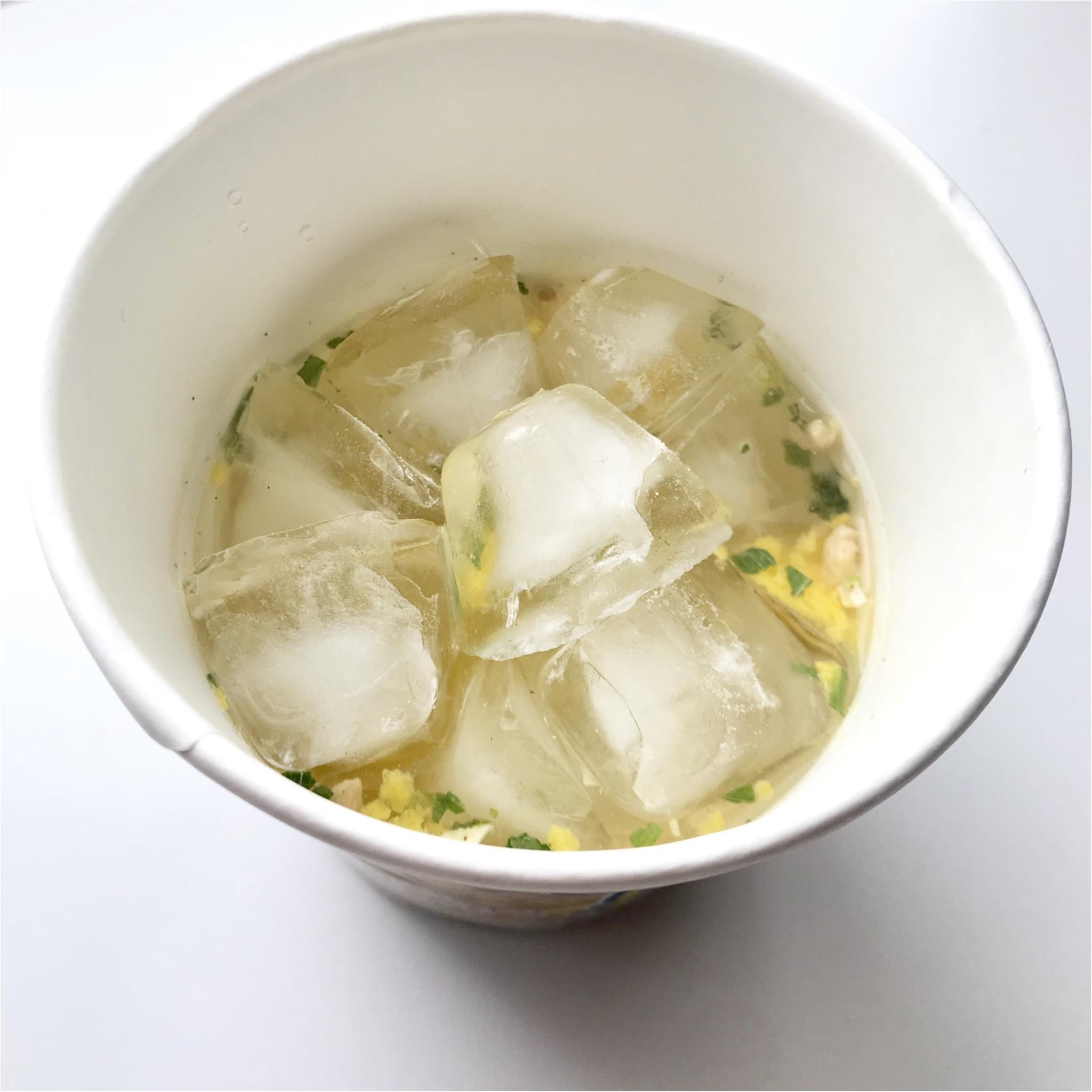 """「スープはるさめ 塩レモン」で""""冷やし春雨""""はじめました!_2_2"""