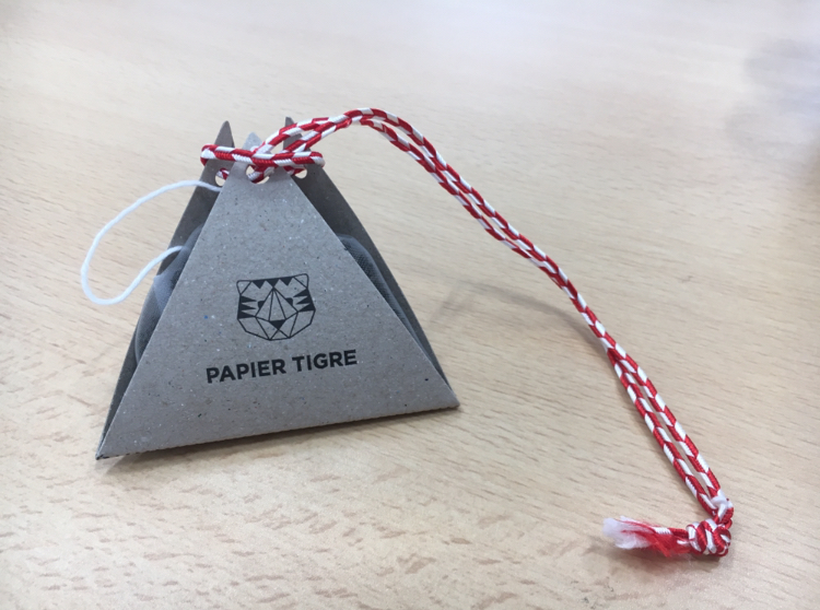 【贈り物のススメ】パリ発♡こだわりの紙とお茶のお店へ《papier tigre》のプチギフト_2