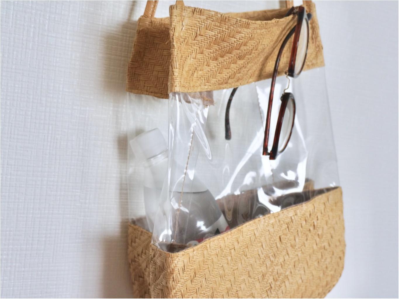 【3coins】可愛すぎる《ワンコインのPVCバッグ》が大人気って噂❤️知ってますか?_3