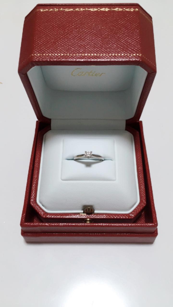 《Cartier カルティエ》エンゲージリングとマリッジリング♡_4