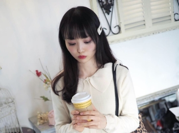 【プチプラ】10000円以下でオルチャンコーデが簡単に作れるmillea byh のガーリーなお洋服【春服】