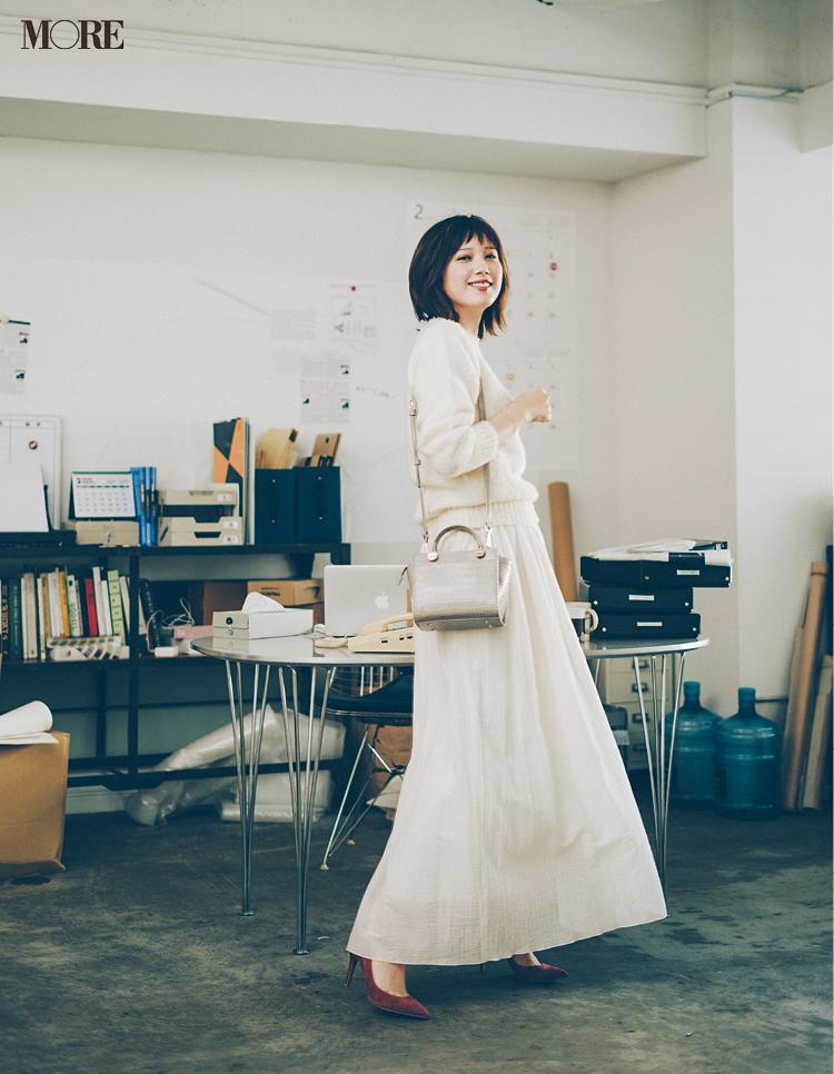本田 翼がOLだったら……? 読者の実体験をもとに「高まるお仕事服」に着替えてみた♡_2