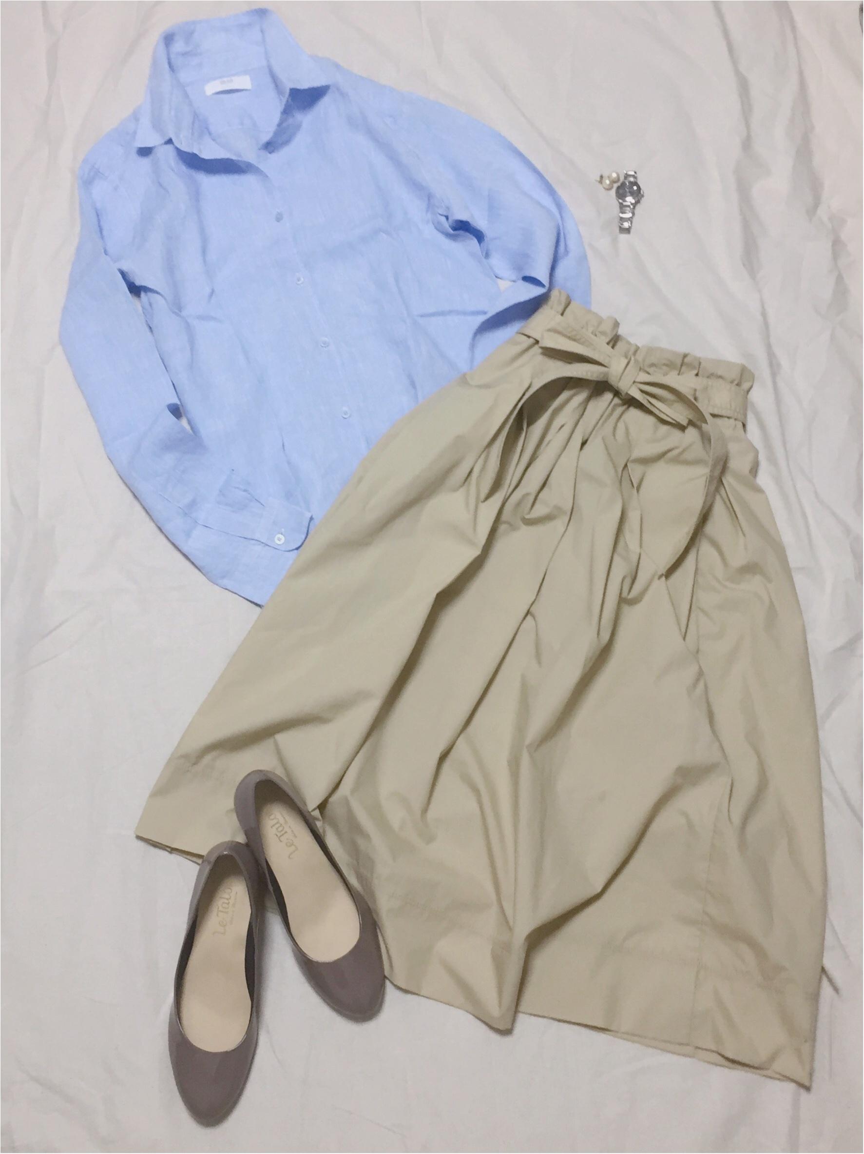 【この夏もUNIQLOが熱い】夏服のスタメン☆リネンシャツ_3