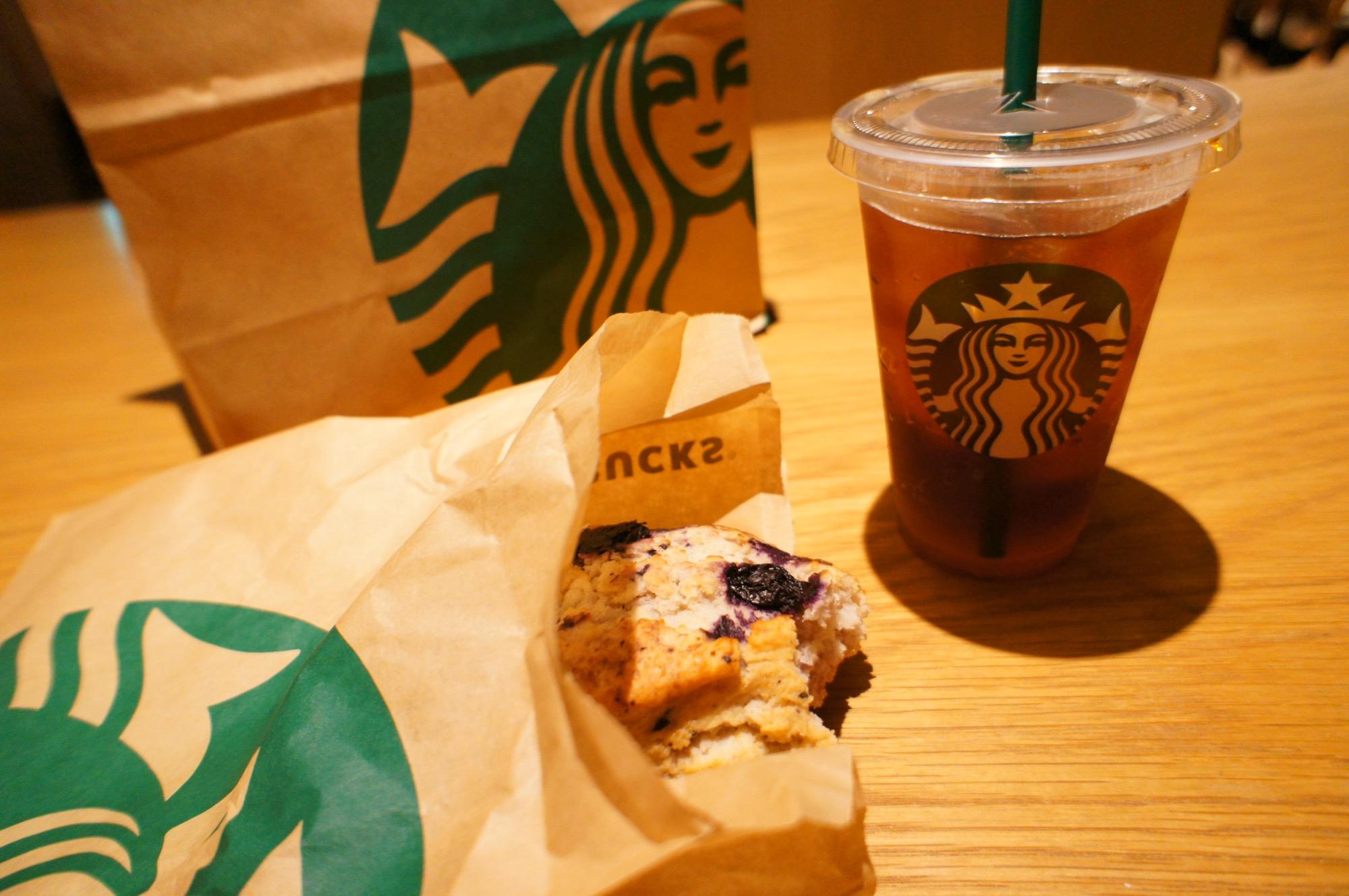 《レジ横foodに注目❤️》【スタバ】アメリカンスコーン ブルーベリーが美味しい☻!_2