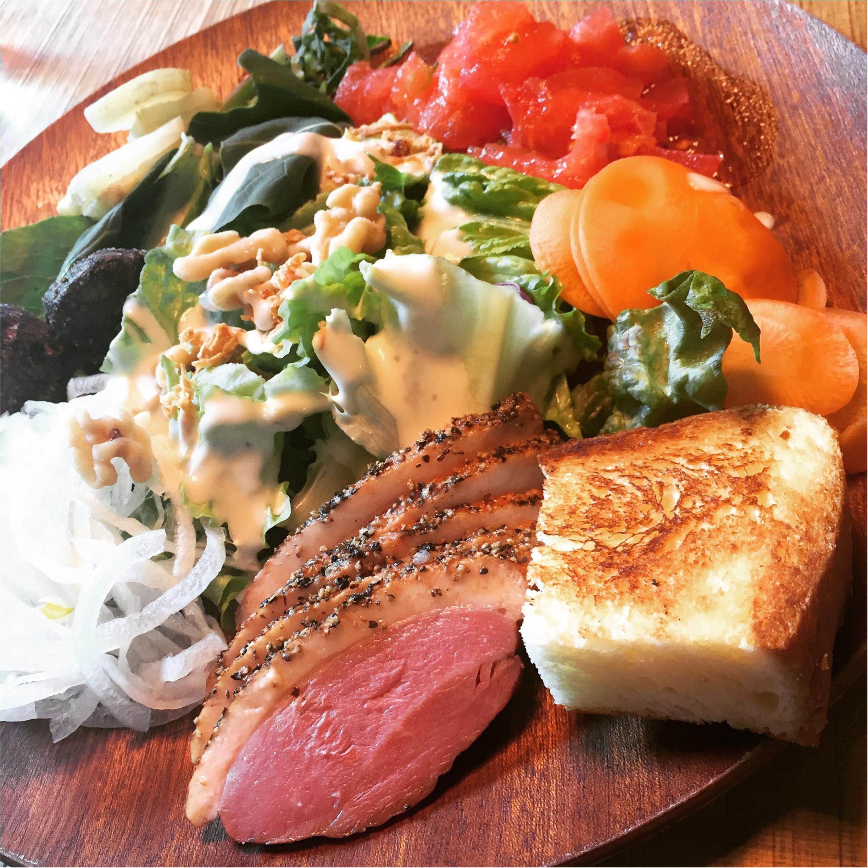 【恵比寿】オーガニック野菜を好きなだけ食べられるサラダランチが¥1,300!メインディッシュ+パン+スープ付き♡≪samenyan≫_8