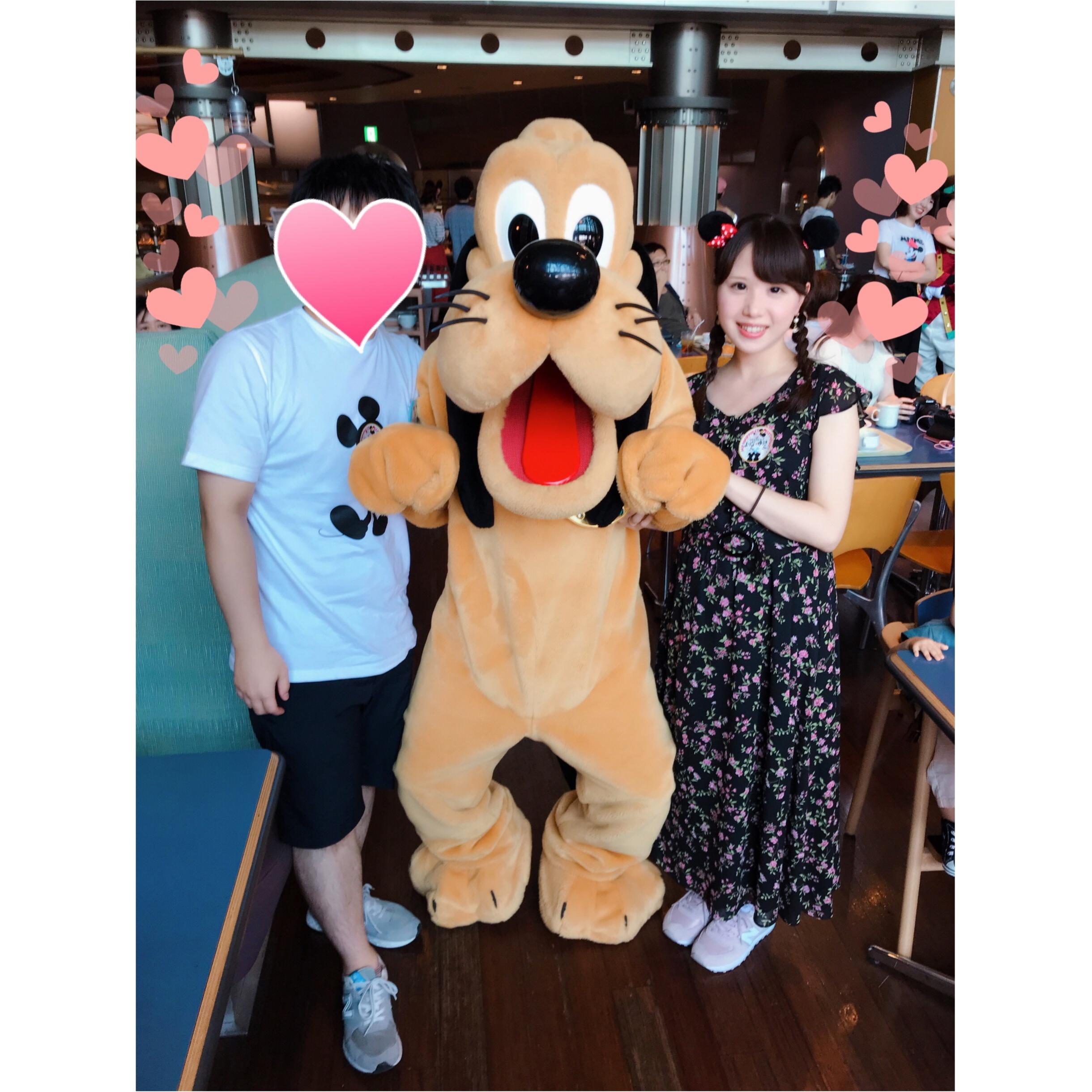 【大人気!】TDSのキャラクターに会えるレストラン♡_2