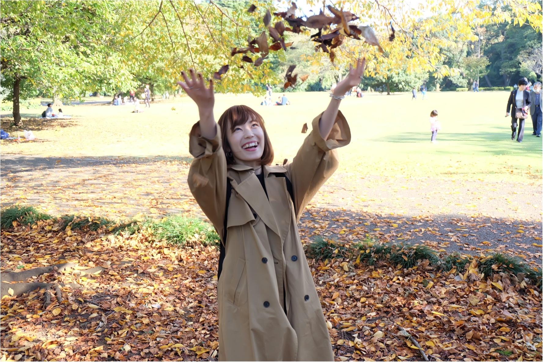 東京でも絶景の紅葉が!《新宿御苑》で秋が始められますよ〜!!フォトスポット&コーディネートも合わせてご紹介!_3