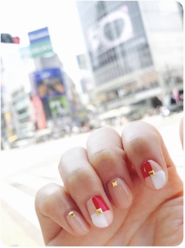 【New Nail】ピンクベージュベースのネイルがやめられません❤︎_1