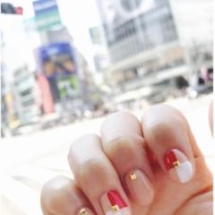 【New Nail】ピンクベージュベースのネイルがやめられません❤︎