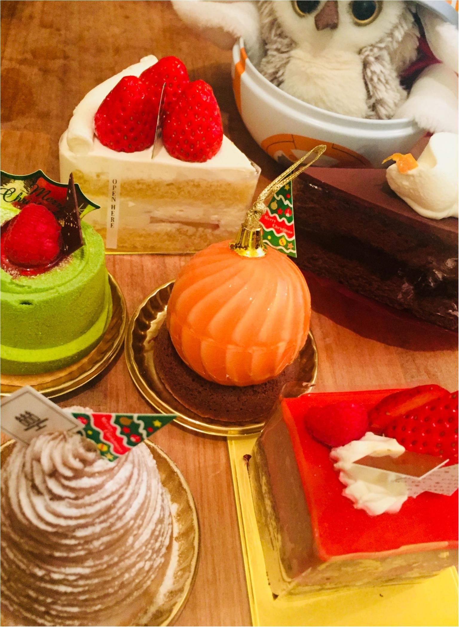 今年のクリスマスケーキもう決めた?私は一足お先に大好きな《アンリシャルパンティエ》さんで購入しましたっ✌︎❤︎_2