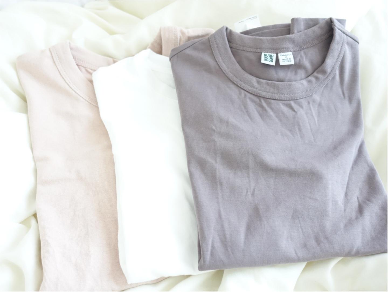 コレクション化しつつある【UniqloU】のシンプルTシャツ。ヘビロテしているカラーはこれ♡_3