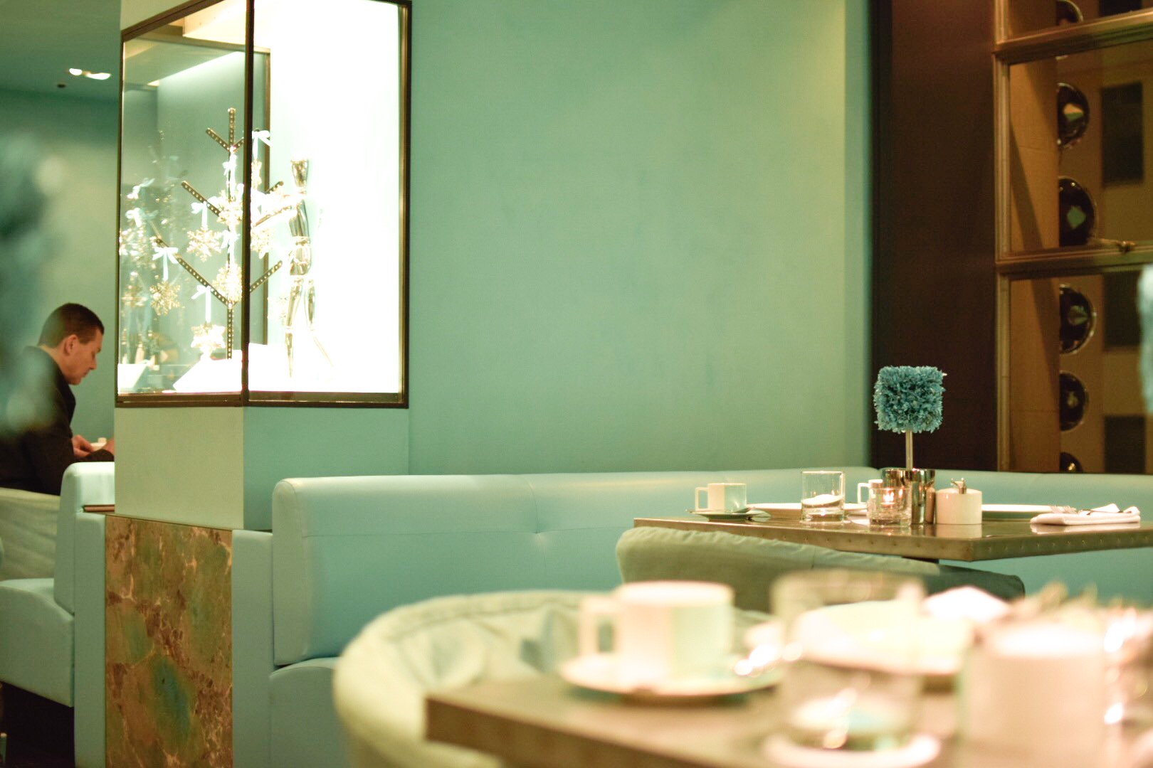 【NY】5番街で「ティファニーで朝食を」実際に食べれる!?The Blue Box Cafe【Tiffany】_2