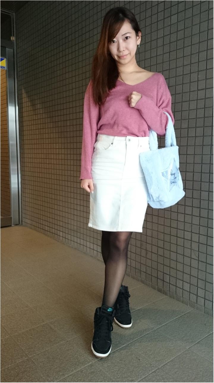 深まる秋のオフィスコーデ♡最旬ニットに秋カラーアイテム_2