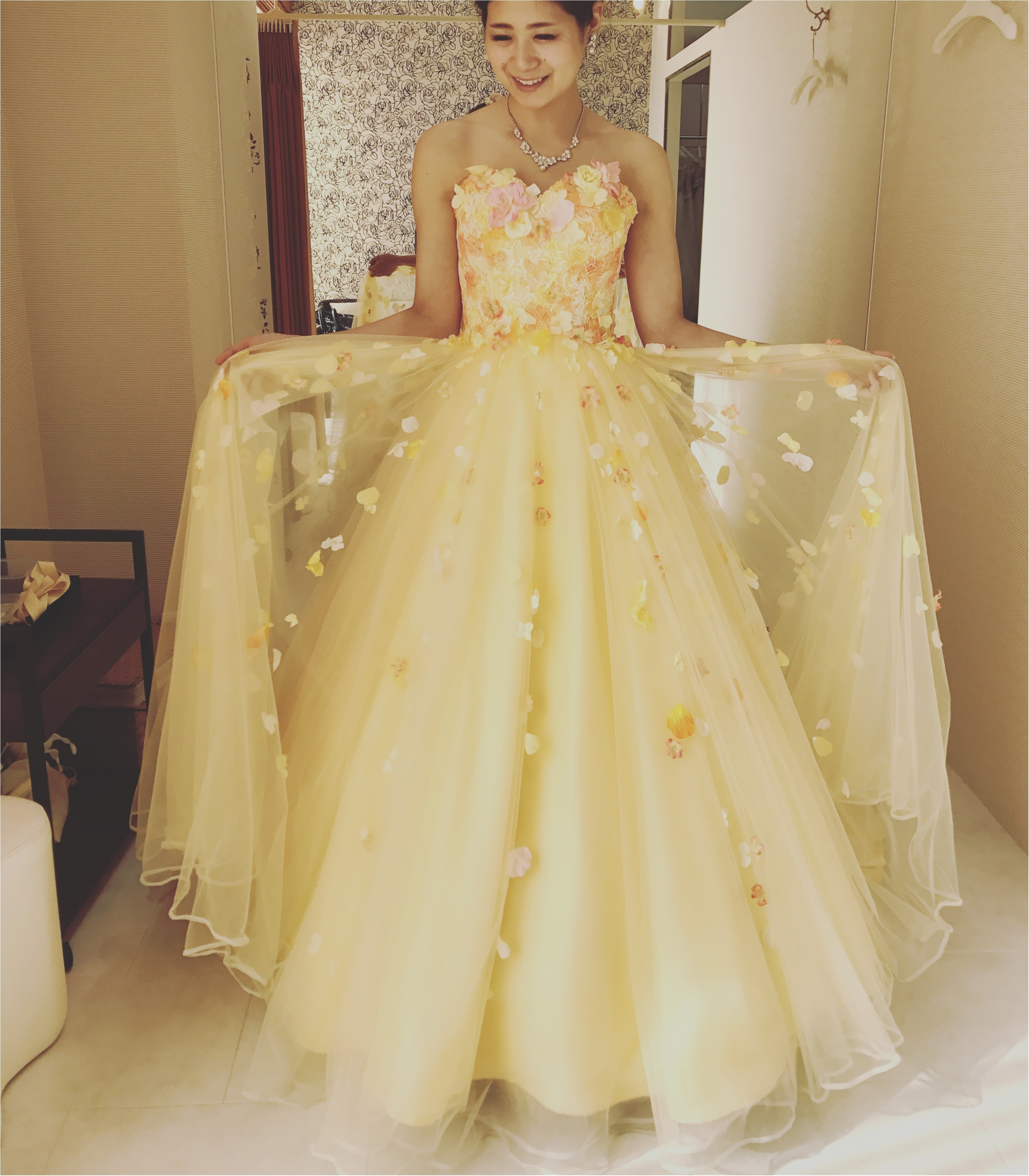 憧れの桂由美さんのドレス試着しました♡_3