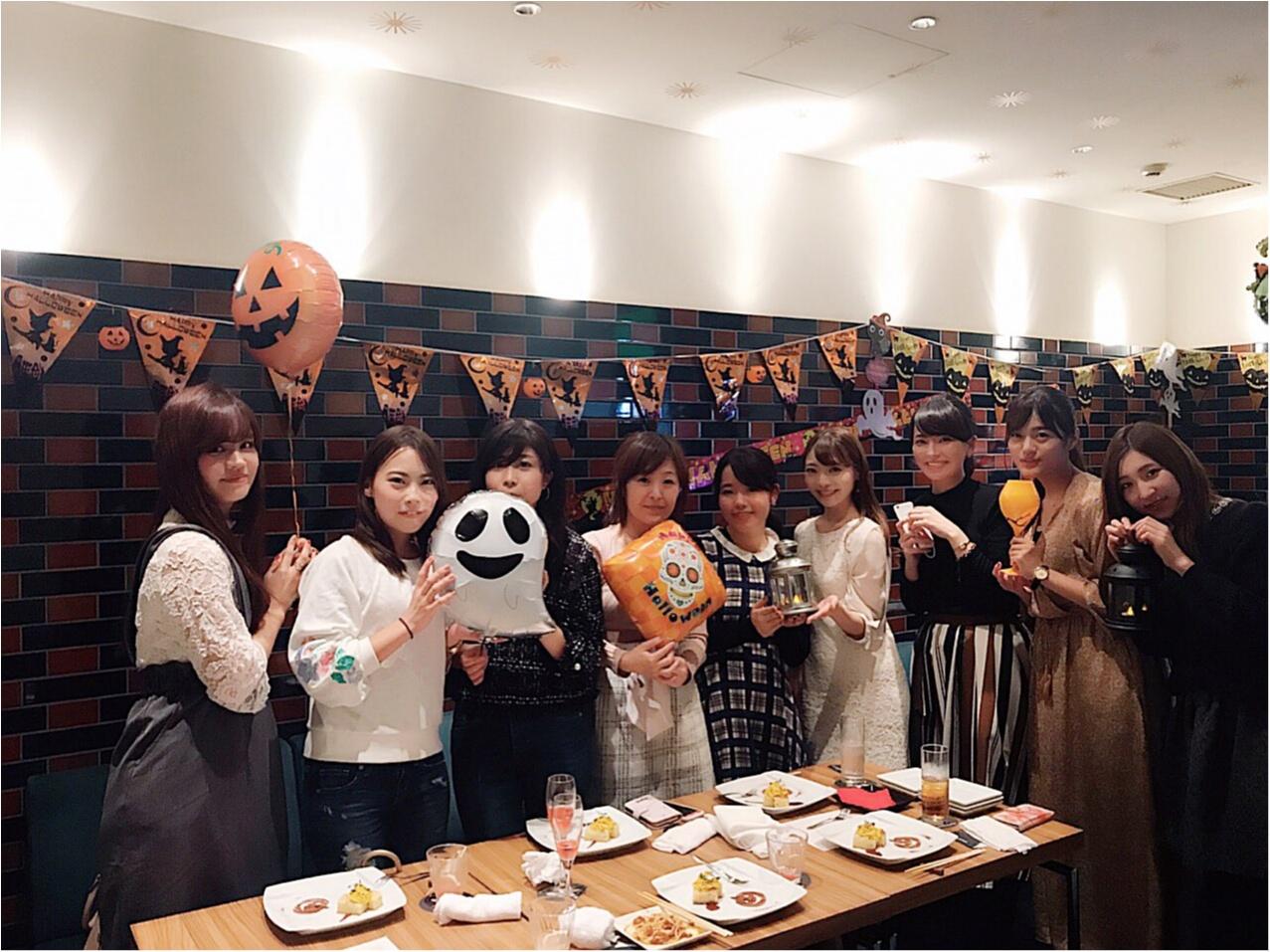 【モアハピ部10期☆】大人数ハロウィン女子会を開催しました♡!!_12