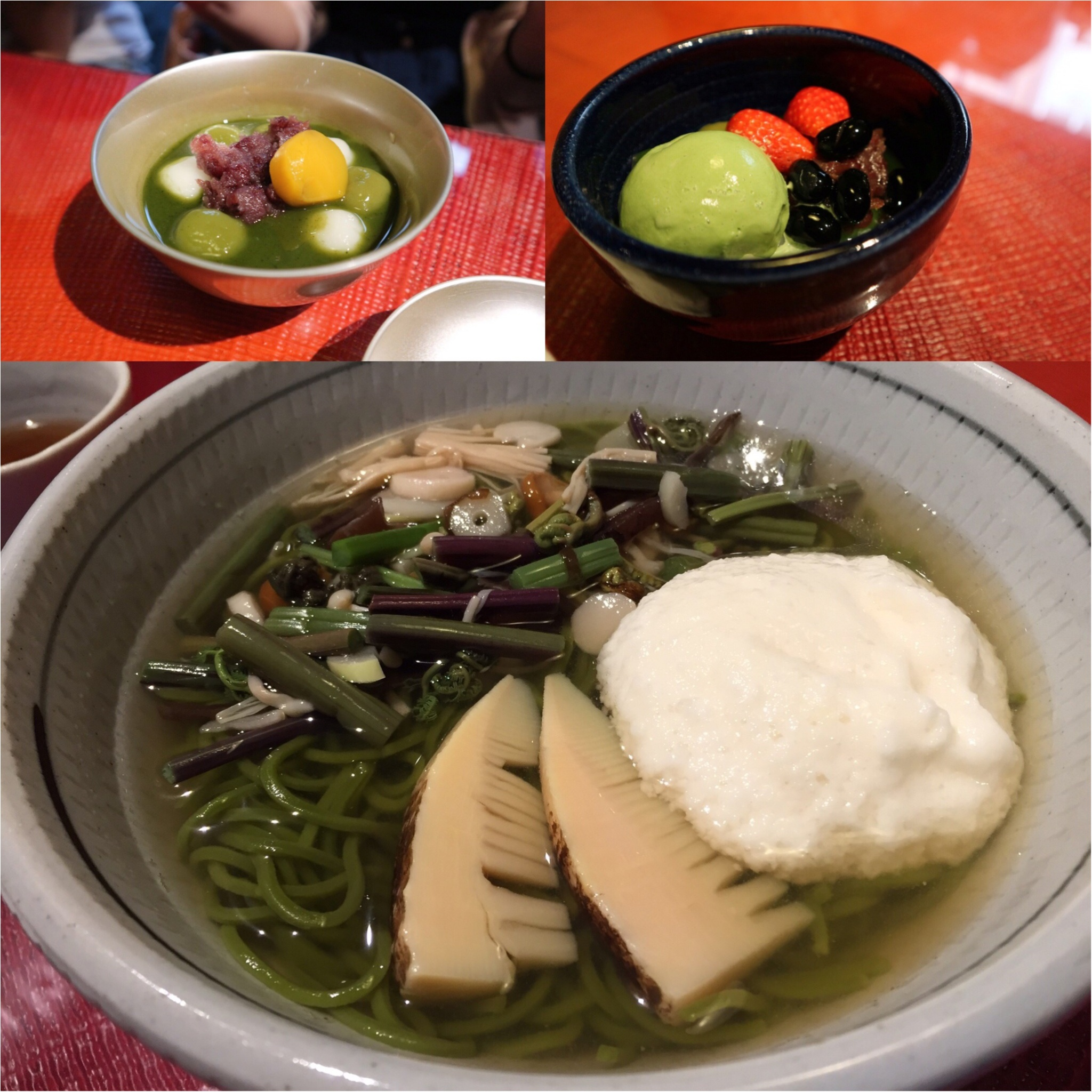 ☺︎♡京都〜抹茶巡りの旅〜わらび餅&パフェ&茶蕎麦_3