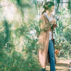 【今日のコーデ/佐藤ありさ】お散歩日和の土曜日は白シャツ×デニムをちょっぴり春らしく更新♪