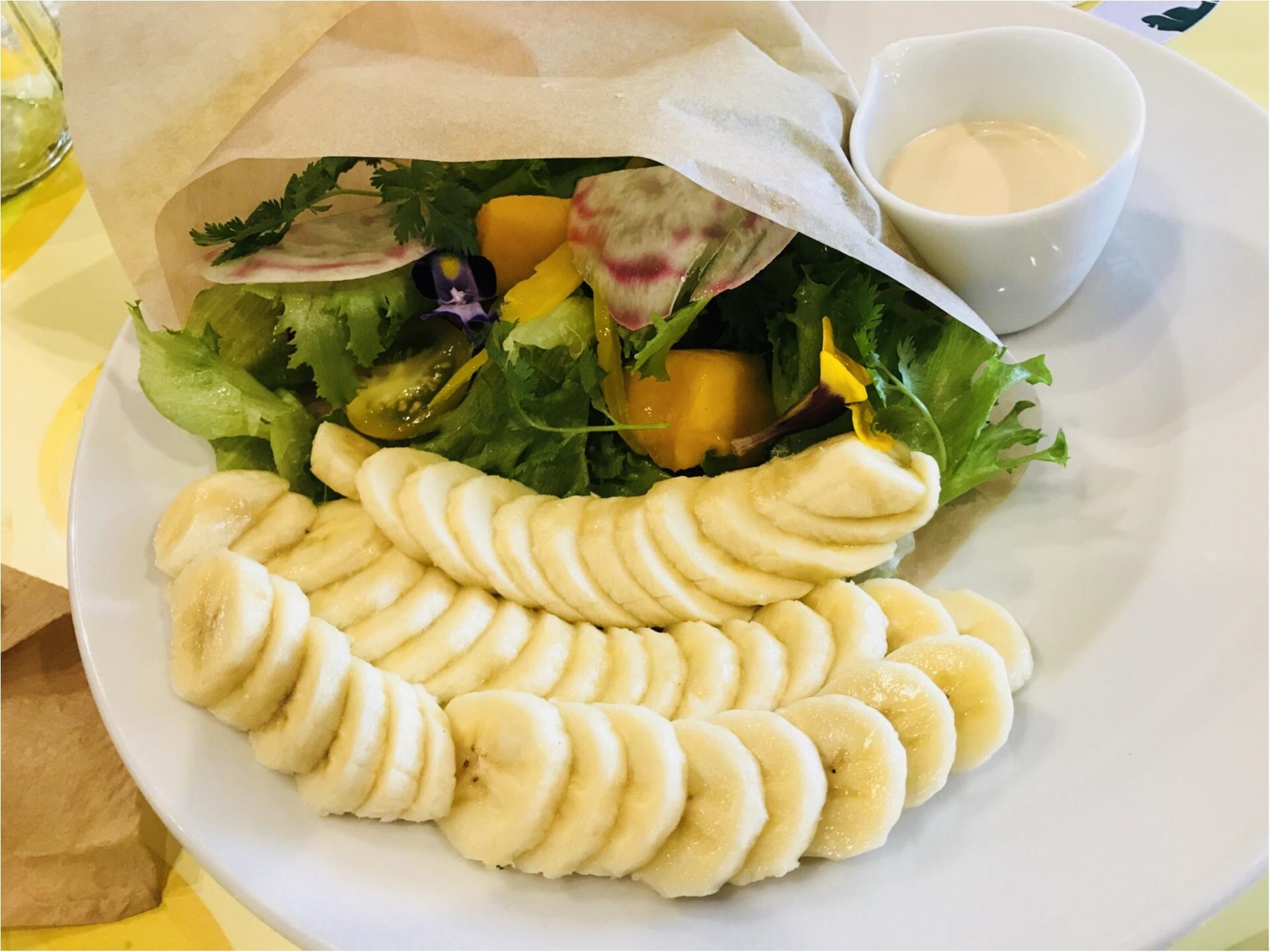 4日限定オープン!【バナナビューティーカロリーカフェ】がバナナづくしだった♡_5