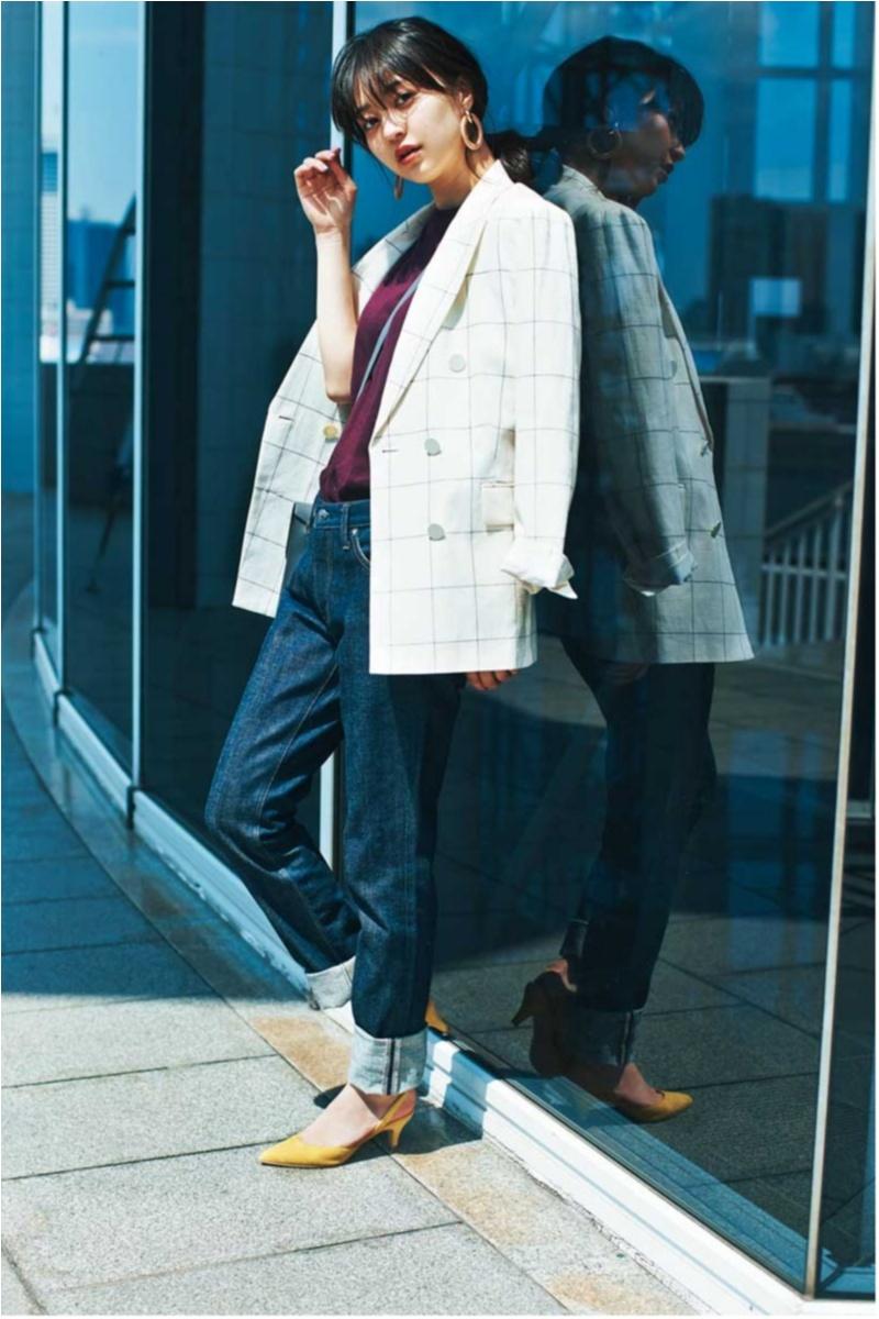 冷房でさむーい室内もおしゃれに過ごせる【夏の羽織りものコーデ】カタログ_1_3