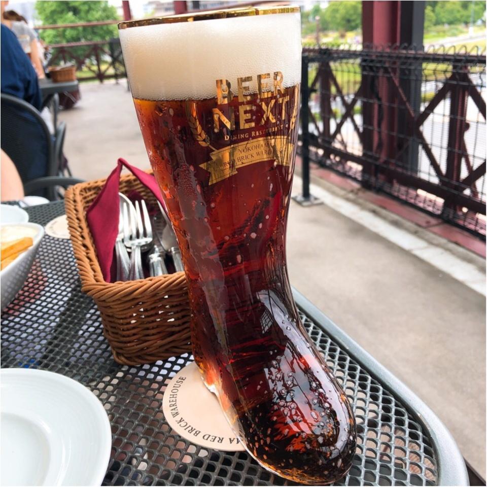 【テラス席】風を感じながら飲むビールは最高♡横浜の昼から飲める素敵スポット!_3