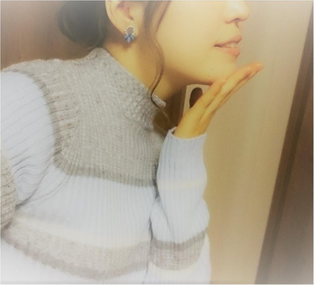 →【 GU¥990ニット♪で coordinate♡】_1