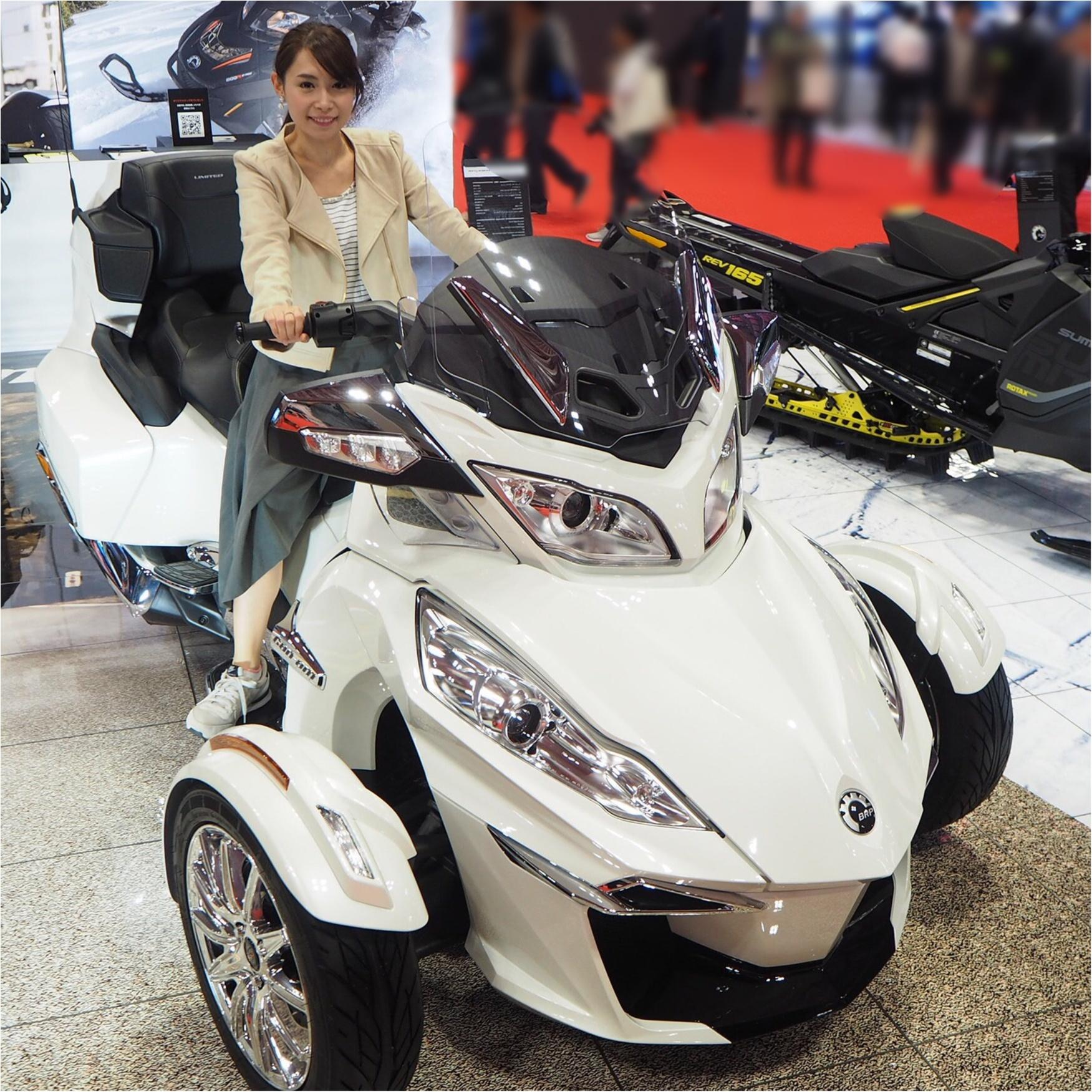 【乗り物好きにはたまらない♡】東京モーターショー2017へ行ってきました_8