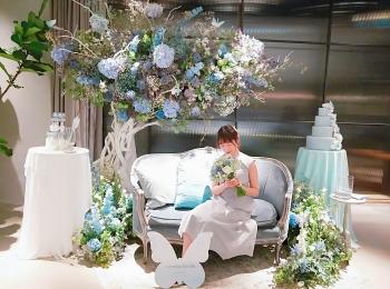 4/30まで!表参道でJILL STUART Beauty がCRAZY WEDDINGとコラボイベント開催中☆
