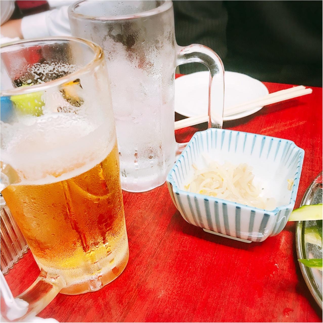 【せんべろin北千住】お酒もつまみもほぼワンコイン以下!《もつ焼き つみき》でリアルタラレバ女子会♡_3